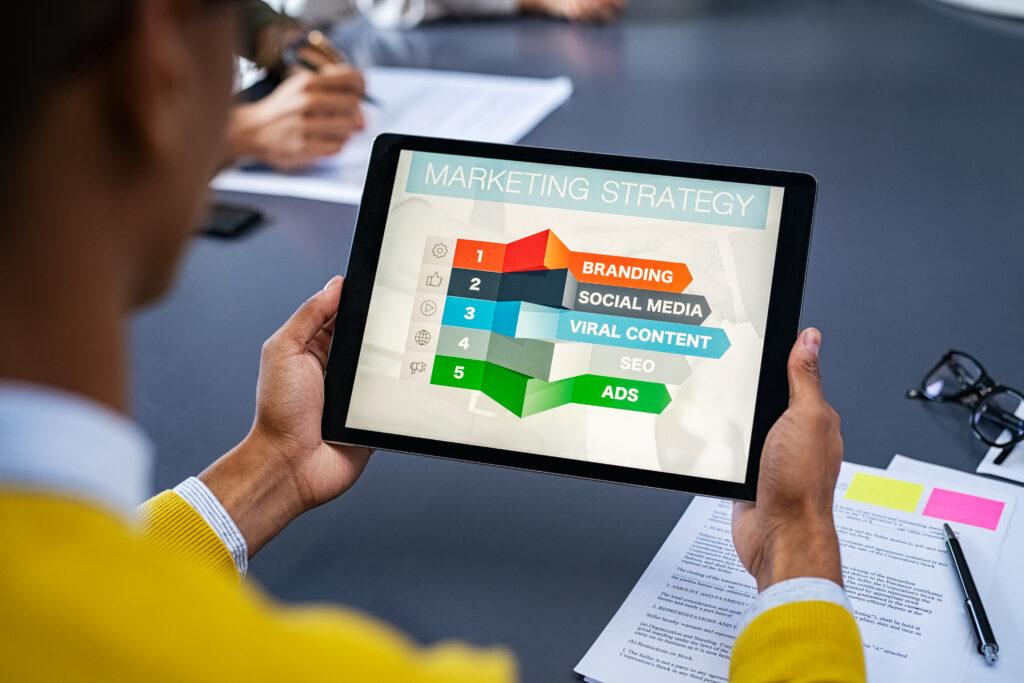 utilizzo di motion graphics per presentazioni corporate